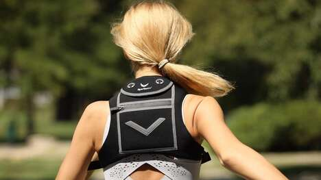 Gear-Securing Runner Backpacks