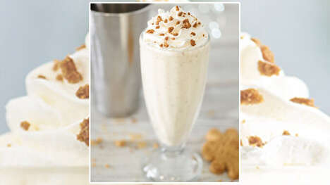Spiced Baked Good Milkshakes