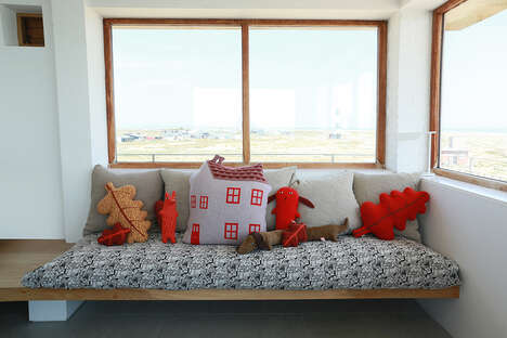 Charming House-Shaped Cushions