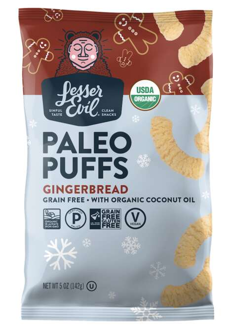 Gingerbread-Flavored Puffs
