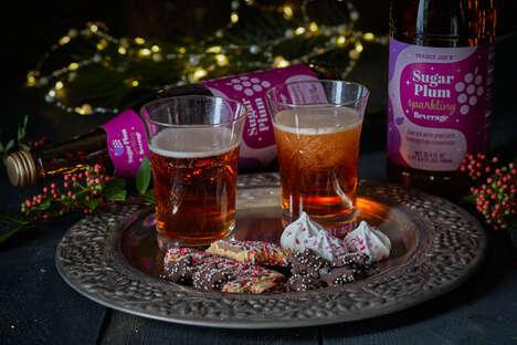 Festive Sugar Plum Beverages