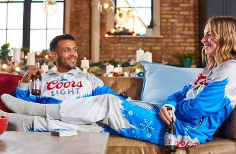 Beer-Branded Holiday Onsies
