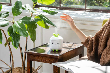 Anthropomorphic Home Humidifiers