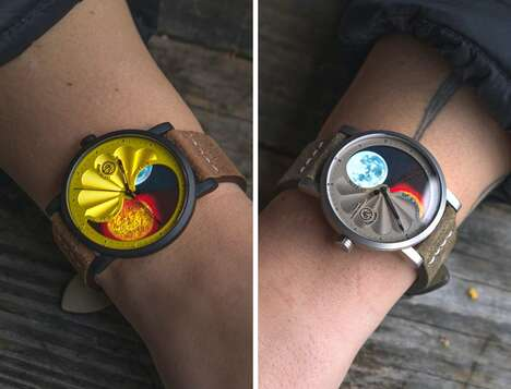 Artistic Celestial Timepieces