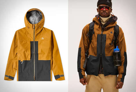 Recycled Polyester Hiking Outerwear