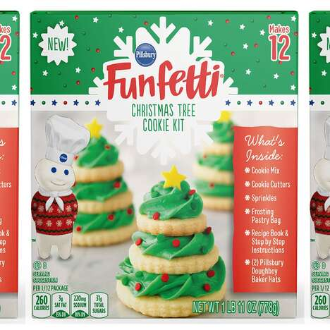 Christmas Tree Baking Kits