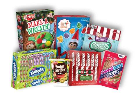 Festively Themed Candy Ranges