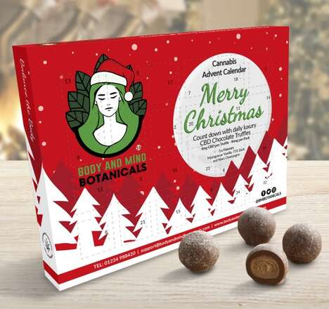 Cannabis-Infused Truffle Calendars
