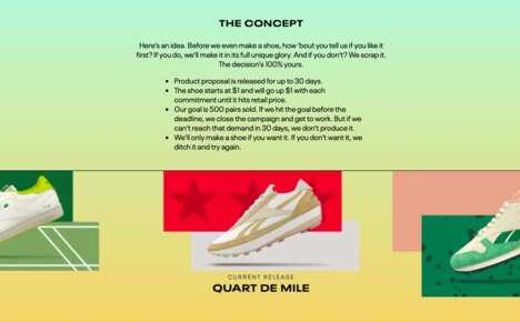 Crowdsourcing Shoe Platforms
