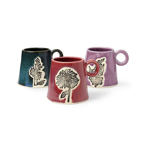 Birth Month Flower Mugs