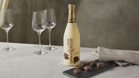 Chocolate Prosecco Beverages
