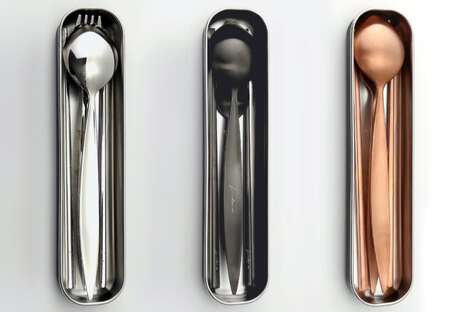 Stylishly Sustainable Cutlery Sets
