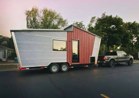 Eco Solar-Powered Tiny Homes