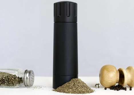 Super-Speed Pepper Grinders