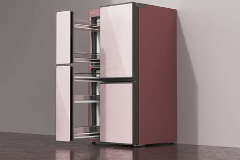 Multi-Level Family-Friendly Fridges
