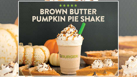Pumpkin Pie-Inspired Shakes