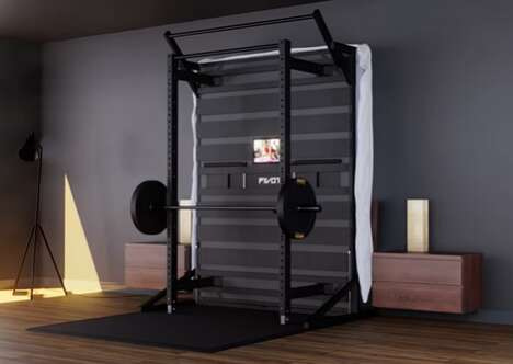 Compact Bedroom Gyms