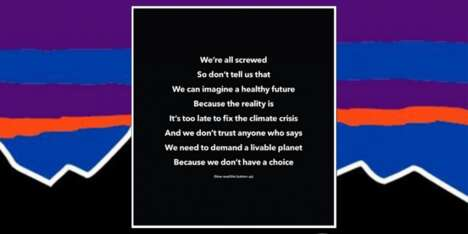 Reversible Climate Crisis Poems