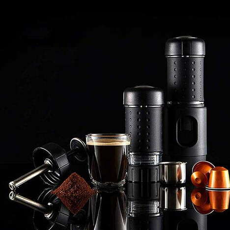 Pod-Friendly Mobile Coffee Makers