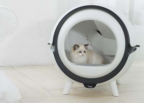 Automated Sanitization Litter Boxes