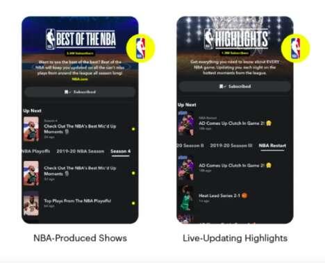 Social Media Basketball Partnerships