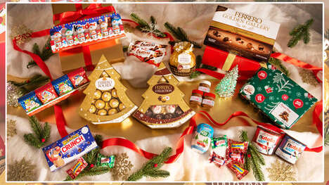Festively Updated Chocolate Collections