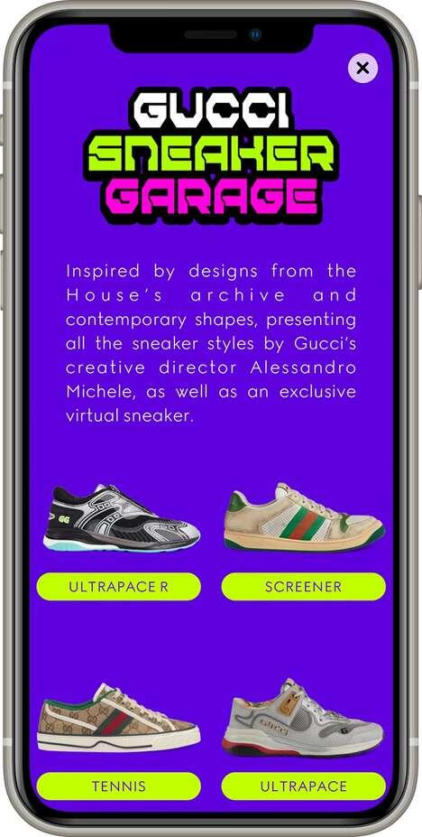 Virtual Sneaker Design Apps