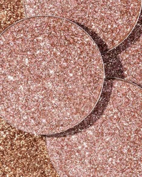 Eco-Friendly Glitter Eyeshadows