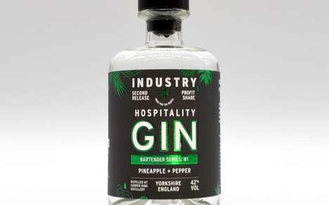 Charitable Peppered Pineapple Gins