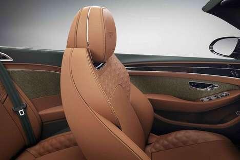 Luxurious Tweed Vehicle Finishes
