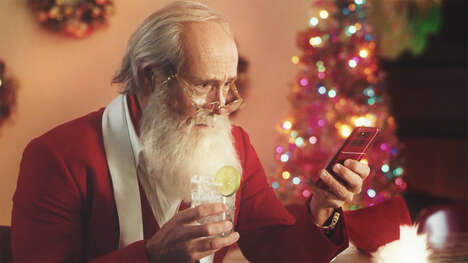 Forgiving Santa Claus Ads