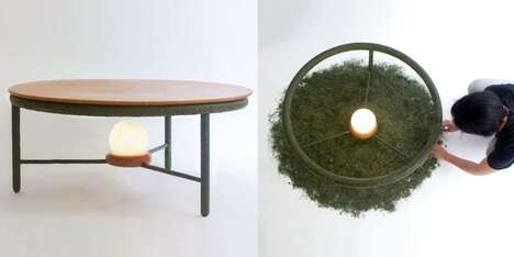 Upcycled Organic Matter Furniture