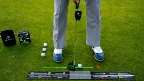 Laser-Powered Golf Accessories