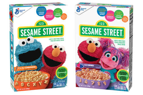 Playful Puppet Cereals