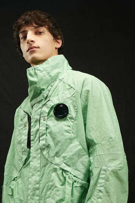 British Mod-Themed Molded Jackets