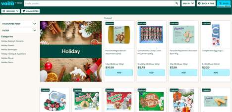 Festive Grocery Delivery Offerings
