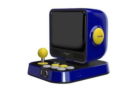 Retro Miniature Game Consoles