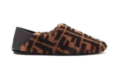 Retro Fuzzy Luxe Slippers