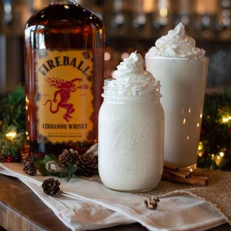 Festive Boozy Milkshakes