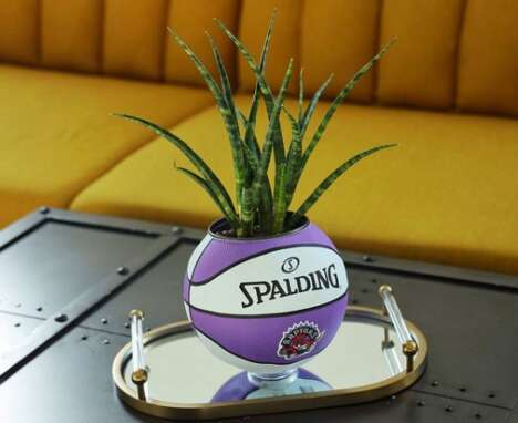 Specially Curated Basketball Planters