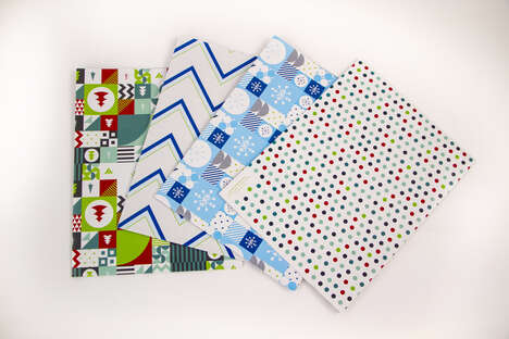 Antimicrobial Treated Gift Wrap