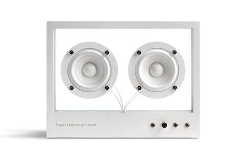 Transparent Bluetooth Speakers