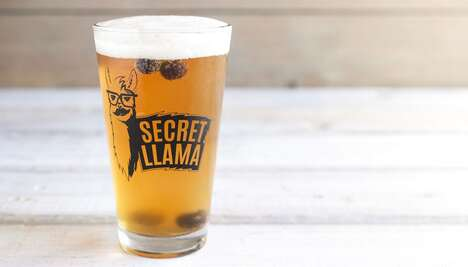 Llama-Themed Beer Promotions