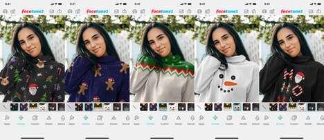 Holiday Sweater Photo Editing Updates