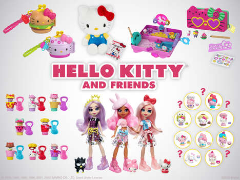 Cartoon Cat Toy Collections