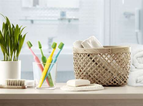 Bio-Based Plastic Toothbrushes