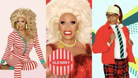 Festive Drag Queen Campaigns