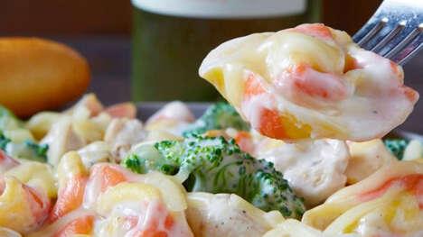 Festively Striped Tortelloni Pastas
