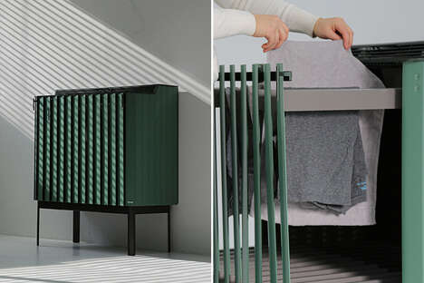 Clothing-Drying Storage Racks