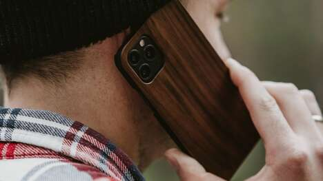 Timber-Accented Smartphone Cases